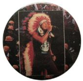 Anthrax - 'Indian Headdress' Button Badge